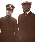 Admiral Grayson and President Woodrow Wilson.